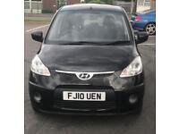 2010 Hyundai I10 1.2 Low Mileage Full dealer service history Long mot £20 Tax (Clio 107 Aygo Yaris)