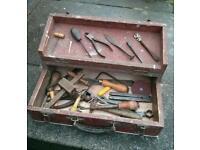Vintage Toolbox and Tools