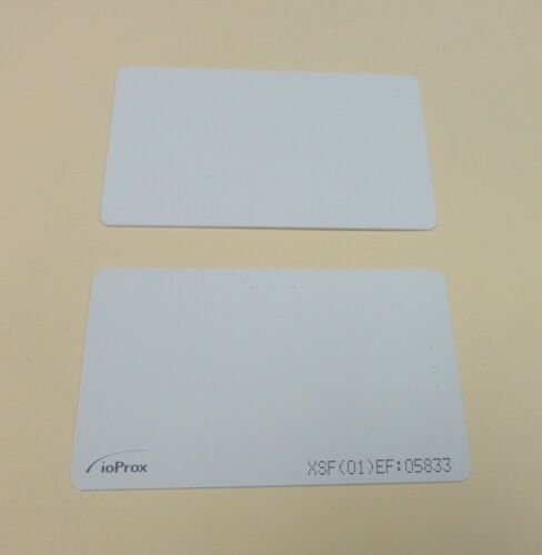 Kantech P20DYE ioProx ISO-Thin Prox Card, XF/26-bit, New. Both sides printable.