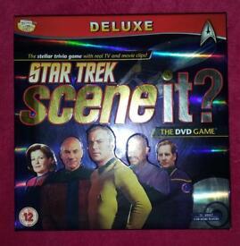 Star Trek Scene It perfect condition