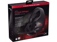HyperX Cloud Stinger Gaming Headset (PC/Xbox/One/PS4/Wii U/Mobile) BNIB