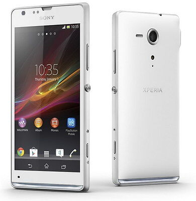"Sony Ericsson Xperia SP C5303 8GB 4.6"" 8MP Smartphone Unlocked Cell phone White"
