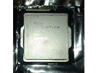 intel 4th gen i7 4790 4core 4thread CPU
