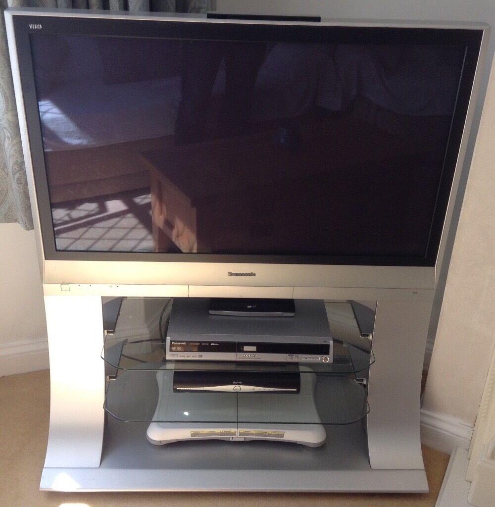 Panasonic Viera 42 Quot Plasma Television Integrated Stand