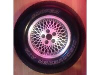 Jeep Alloy with Discoverer Cooper ATR 235/75 R15