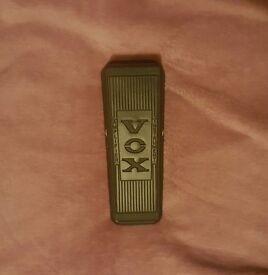 Vox WAH845 Classic Wah Pedal