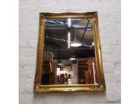 Decorative Gilt Framed Mirror (DELIVERY AVAILABLE)