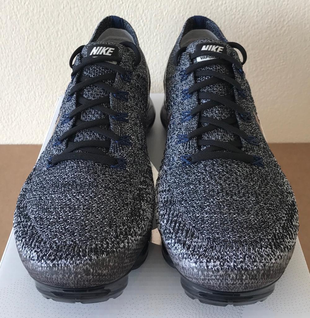 Nike Air Vapormax Flyknit  Explorer  Grey Red Copper Black UK 10 - 849558  010 7c3820513