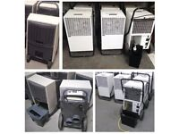 used Large Industrial Dehumidifiers - Fral & Dantherm in full working order from only £250 each