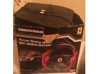 Thrustmaster wheel suitable for PS3 & PC