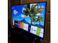 """49"""" 4K LG Smart Ultra Hd Led tv Excellent condition"""