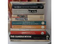 Selection of photography books