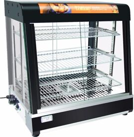 Hot Food Warming Display Showcase bv-809b Restaurant & Catering Equipment Curved Glass