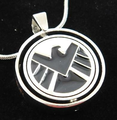 Marvel S H I E L D  Vs  Hydra Allegiance Pendant Necklace New Spins