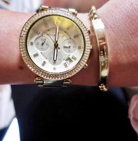 Rose Gold Micheal Kors Watch