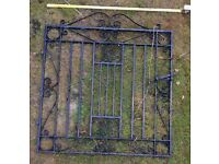 Pair of Wrought Garden Iron Gates