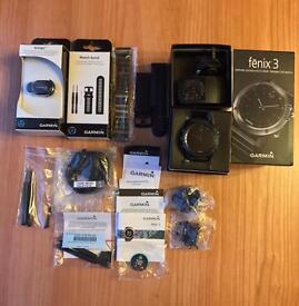 For Sale: Garmin Fenix 3 Sapphire Edition GPS GLONASS ABC BT WIFI Watch