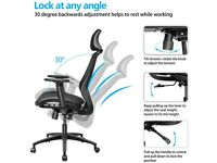 NEW Office Chair with Back Support, Ergonomic Desk Chair High Back Mesh Breathable Office Chair