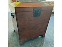 FLIPPED FURNITURE,Wooden Storage Trunk /Blanket Box /Chest/Bedside table Hinged