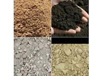 Mot type 1 grit sand top soil