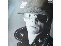 Lou Reed live - on vinyl record