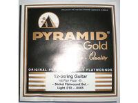 NEW PYRAMID GOLD GUITAR STRINGS