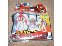 THE AMAZING SPIDERMAN 2 FIGURE SPIDER O STRIKE IRON CLAW (NEW)