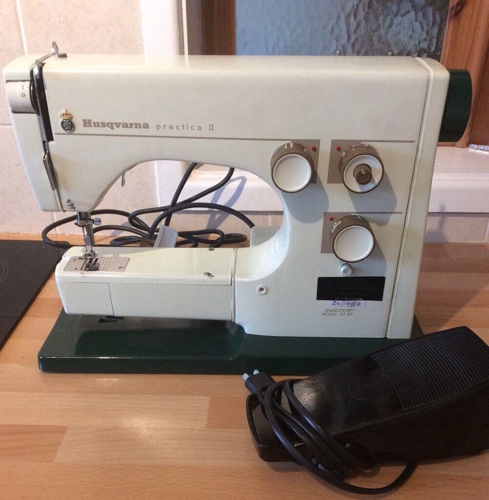 HUSQVARNA VIKING PTACTICA II 5230 sewing machine . Spares or repair
