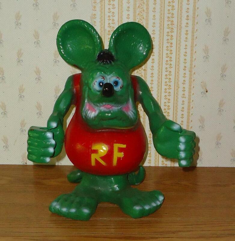 RAT FINK Big Daddy Ed Roth Statue  Hot Rod Art Cast Aluminum 12