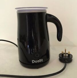 VGC Dualit Black Milk Frother (RRP £45)