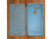 Official case for Nexus 5x smartphone - green - used - good condition