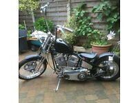 Custom Bobber Chopper Boneshaker Harley Davidson S&S Hardtail flyrite