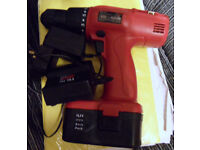 Cordless Power Drill PRO WORK PAS 14,4 Model,red colour