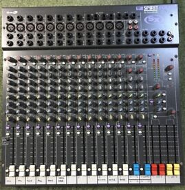 Soundcraft Spirit Folio SX - 20 Channel Mixer