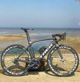 Carbon Trek Madone SL 9.0 Road bike - matte grey - 54cm - Ultegra