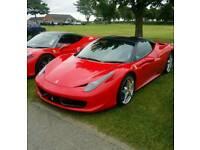 Ferrari 458 Italia. Rosso Corsa. Immaculate. High spec. Nottingham. RHD.