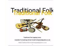 Falkirk , traditional folk members.