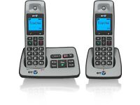 BT 2500 Twin Cordless DECT Phone with Answer Machine (Pack of 2)