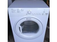 HOTPOINT 6.5KG VENTED B CLASS ENERGY RATING TUMBLE DRYER -IN GOOD WORKING ORDER