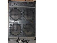 CARLSBRO B150 BASS COMBO - 150w Bass Guitar Amplifier