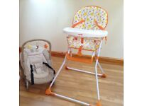Baby - High chair and baby seat
