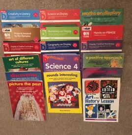 Selection of Belair books for teachers