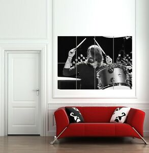 DAVE-GROHL-DRUMMING-FOO-FIGHTERS-NIRVANA-GIANT-POSTER-PRINT-B868