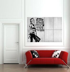 GRAFFITI ART QUOTES GIANT WALL ART PRINT POSTER  B761