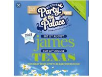 2 PARTY AT THE PALACE WEEKEND TICKETS