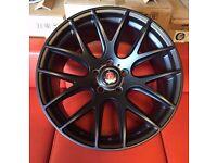 """18"""" BRAND NEW AXE CS LITE ALLOY WHEELS FITS VW GOLF PASSAT CADDY EOS"""