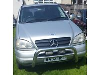 FOR SALE Mercedes Benz ML 270