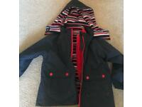 Jojo Maman Bebe 4 in 1 all year round coat / jacket Age 2-3