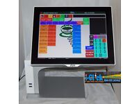 Aures Sango Epos TouchScreen System All-in-One till Cash Register Pos Retail Fast Food Coffee shop