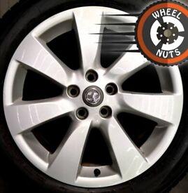 "18"" Genuine Vauxhall Astra J GTC new Insignia alloys perf cond Bridgestone tyres"